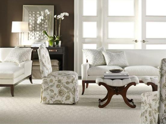 imbiancare casa idee: colori pareti: il marrone scuro e i suoi ... - Colore Pareti Soggiorno Marrone 2