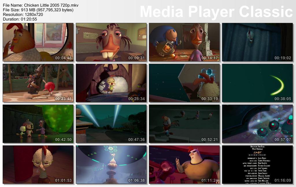 Chicken Little [BrRip 720p] [Ing-Neu-Lat-Arg] [MG]