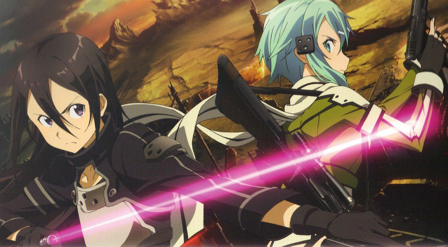 Sinon And Kirito Fight Each Other In The Qualifying Rounds Reach An Understanding Both Make It Into Ballet Of Bullets During Qualifiers Also