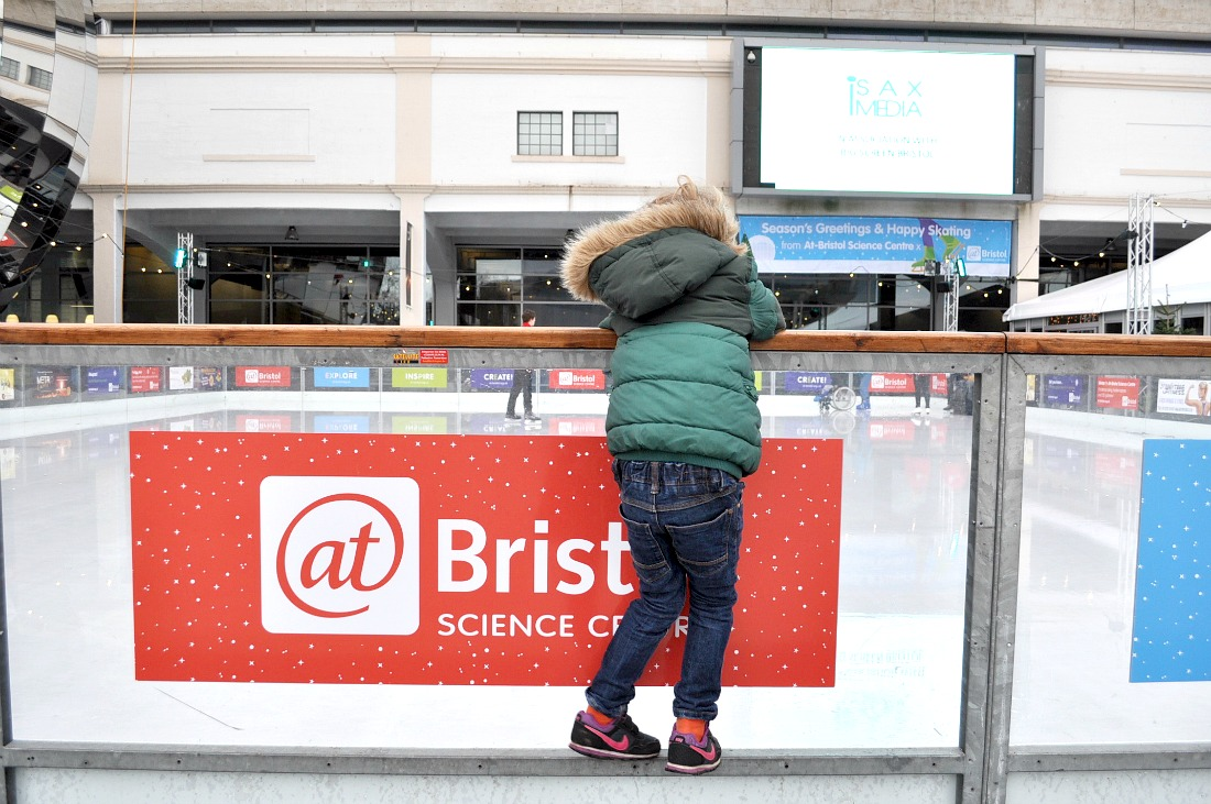 A festive weekend in Bristol with Kids ice skating