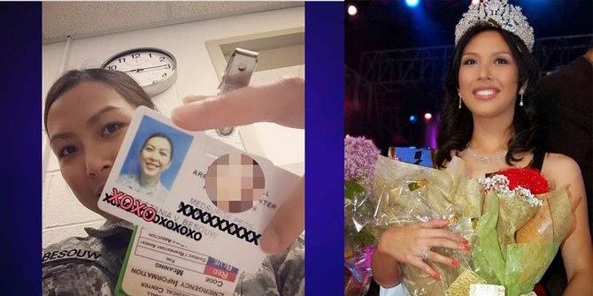 Miss Indonesia 2006 Gabung dengan US Army