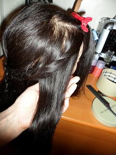 Bohemian braid hairstyle