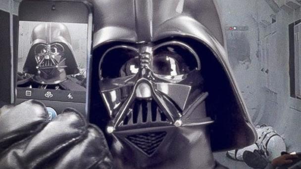 El Selfie de Darth Vader en Facebook