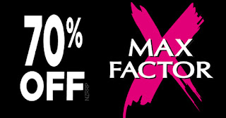 Max Factor CRAZY Sale!
