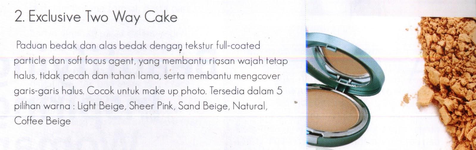Toko Wardah Exclusive Two Way Cake