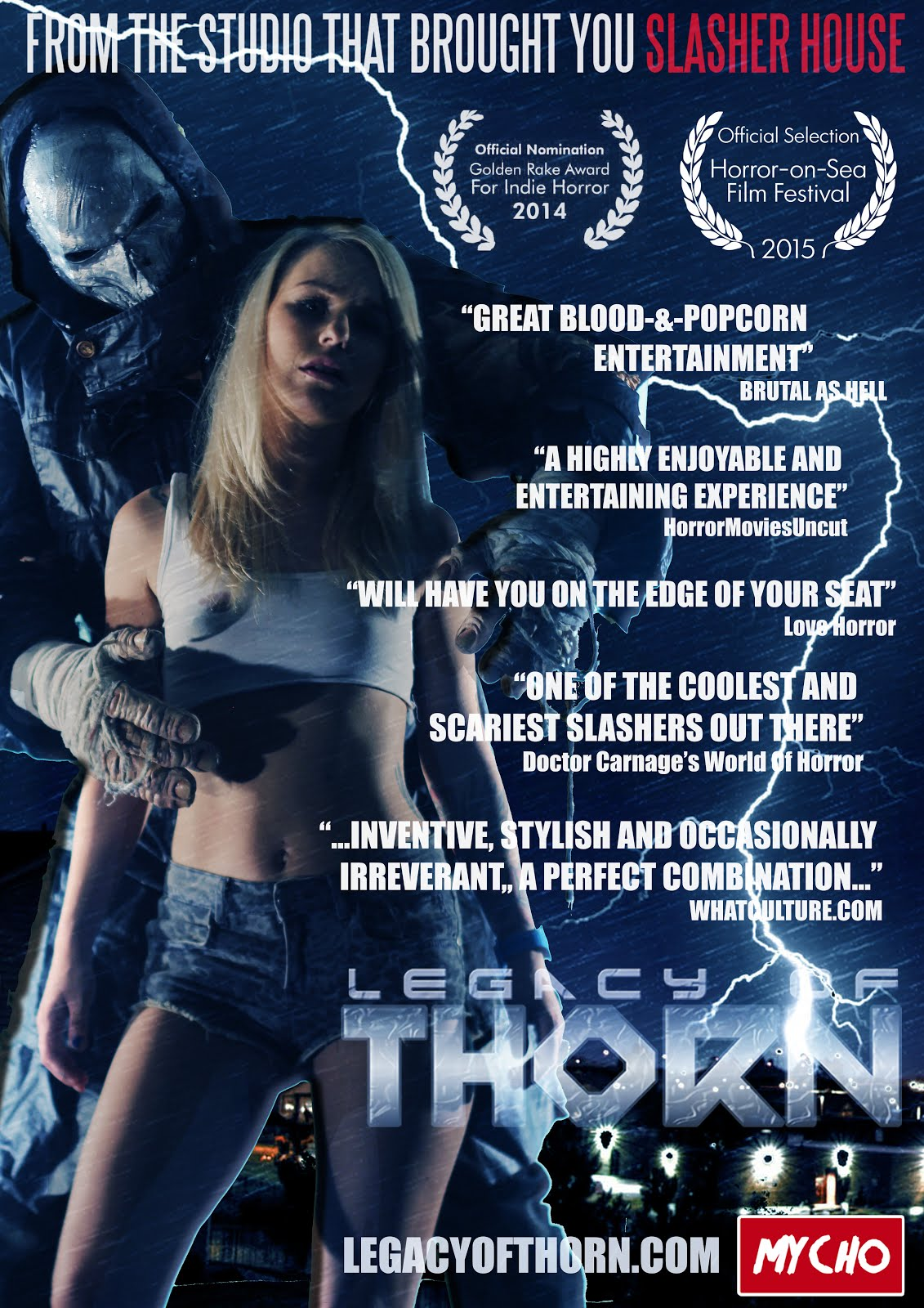 LEGACY OF THORN DVD