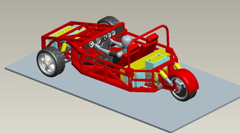 The Tinkers Workshop: Big Parts For A Big Electric Car Model