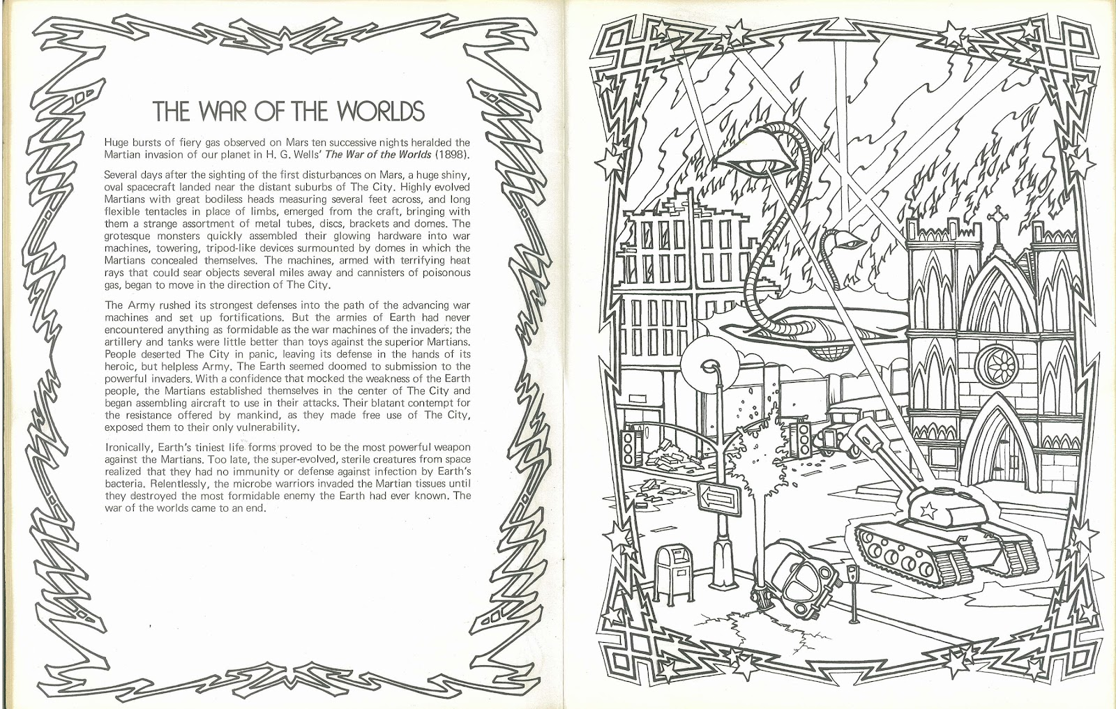 science fiction anthology coloring book 1 of 2