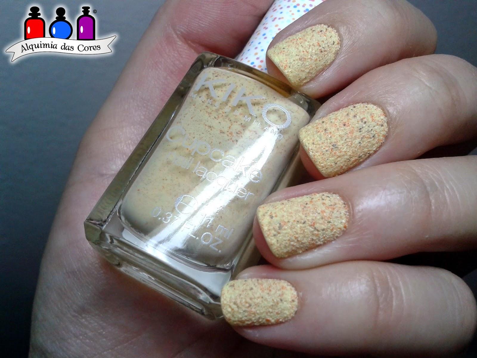 648, Kiko, pineapple, amarelo, texturizado, importado, carimbada, carimbo, DRK, esmalte, nail polish, sand, liquid sand