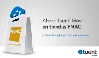 Tuenti Móvil Fnac Callao Castellana La Gavia Valencia