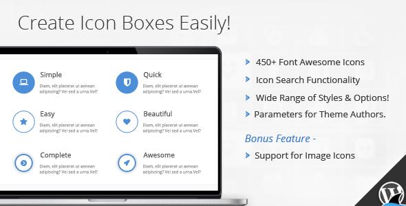 Icon Box v1.4.3 Visual Composer