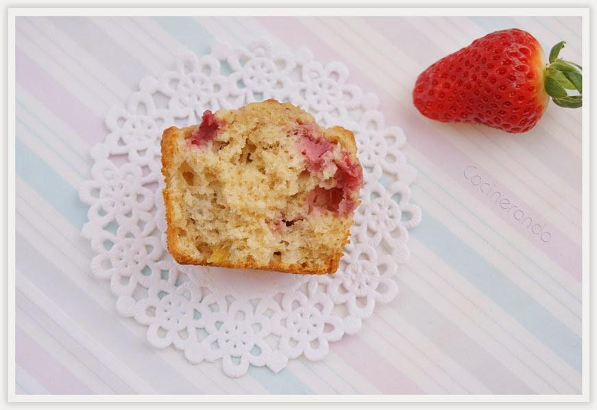 muffins-platano-avena-fresa