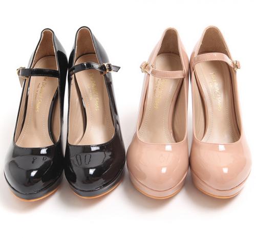 Mary Jane Strap Heels