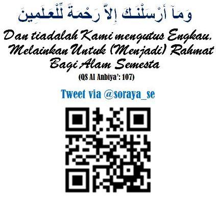 QS Al Anbiya': 107 ramatan lil alamin
