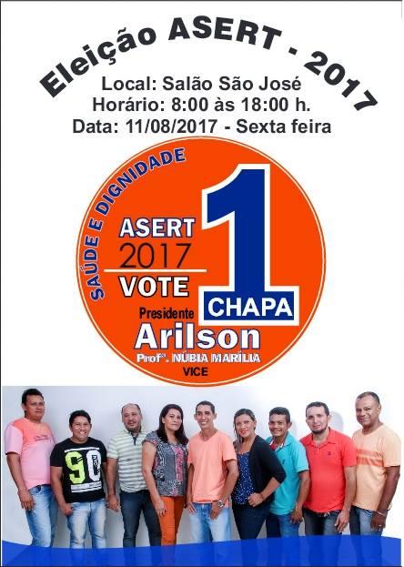 Eleição ASERT Chapa 1