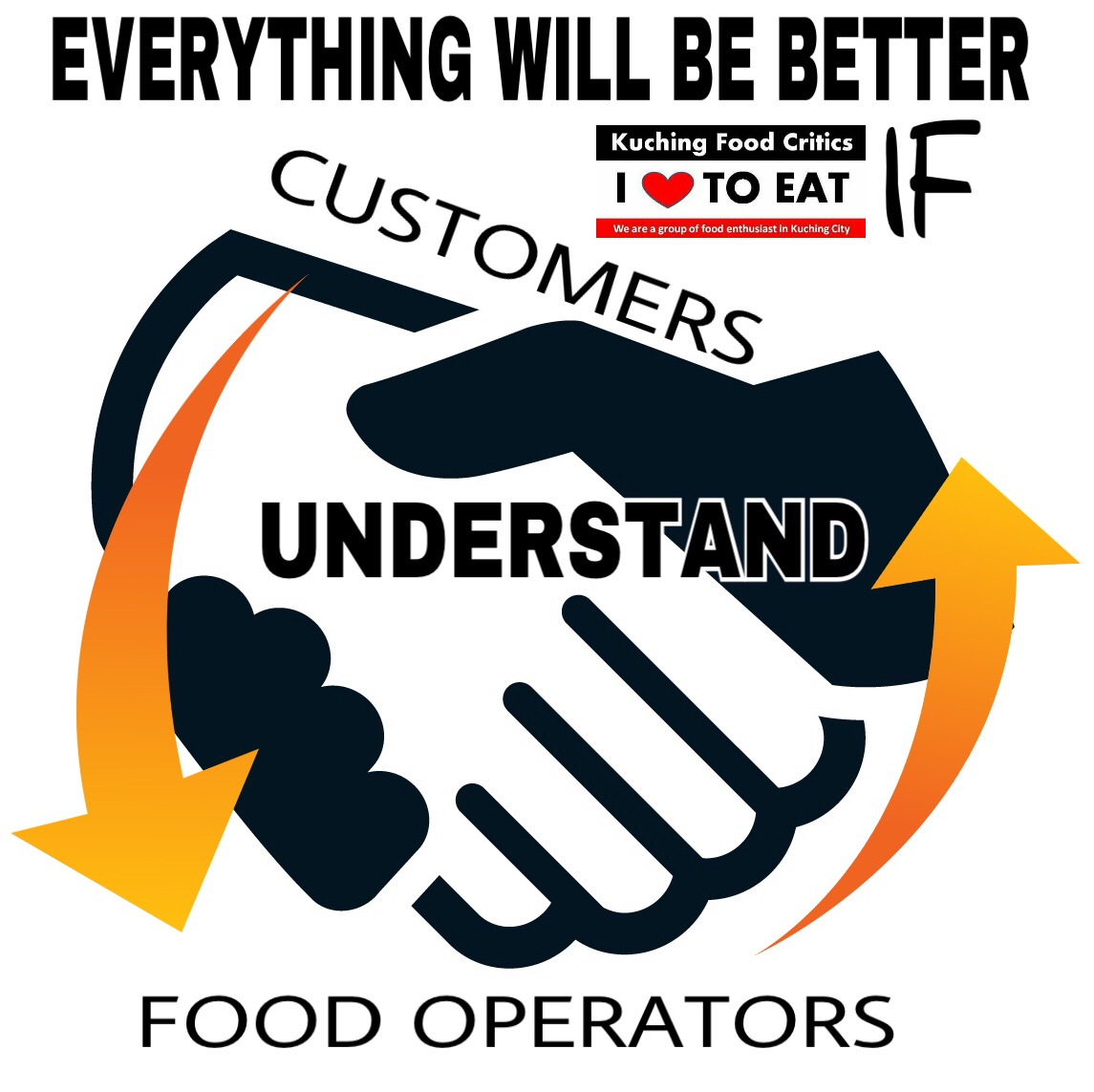 Mutual Understanding between Customers with Food Operators
