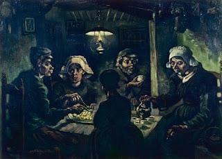 Van Gogh's The Potato Eaters