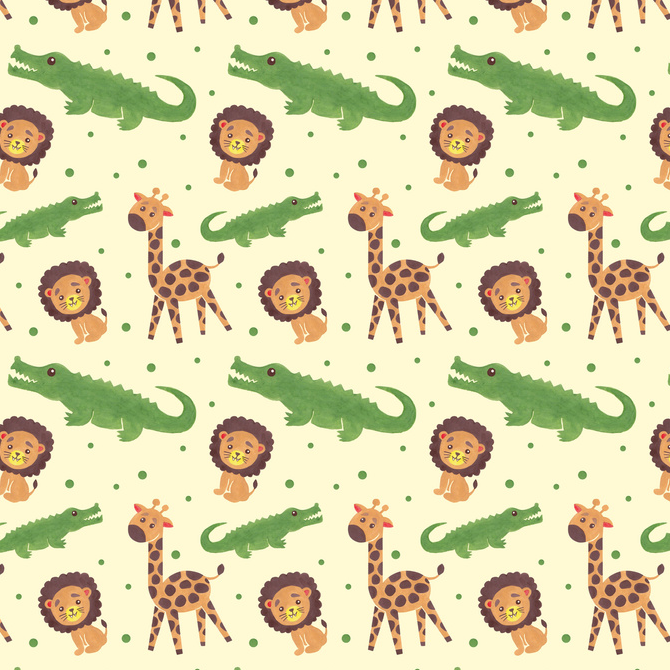 Welcome to Africa Pattern Printed on Merchandise Illustration by Haidi Shabrina