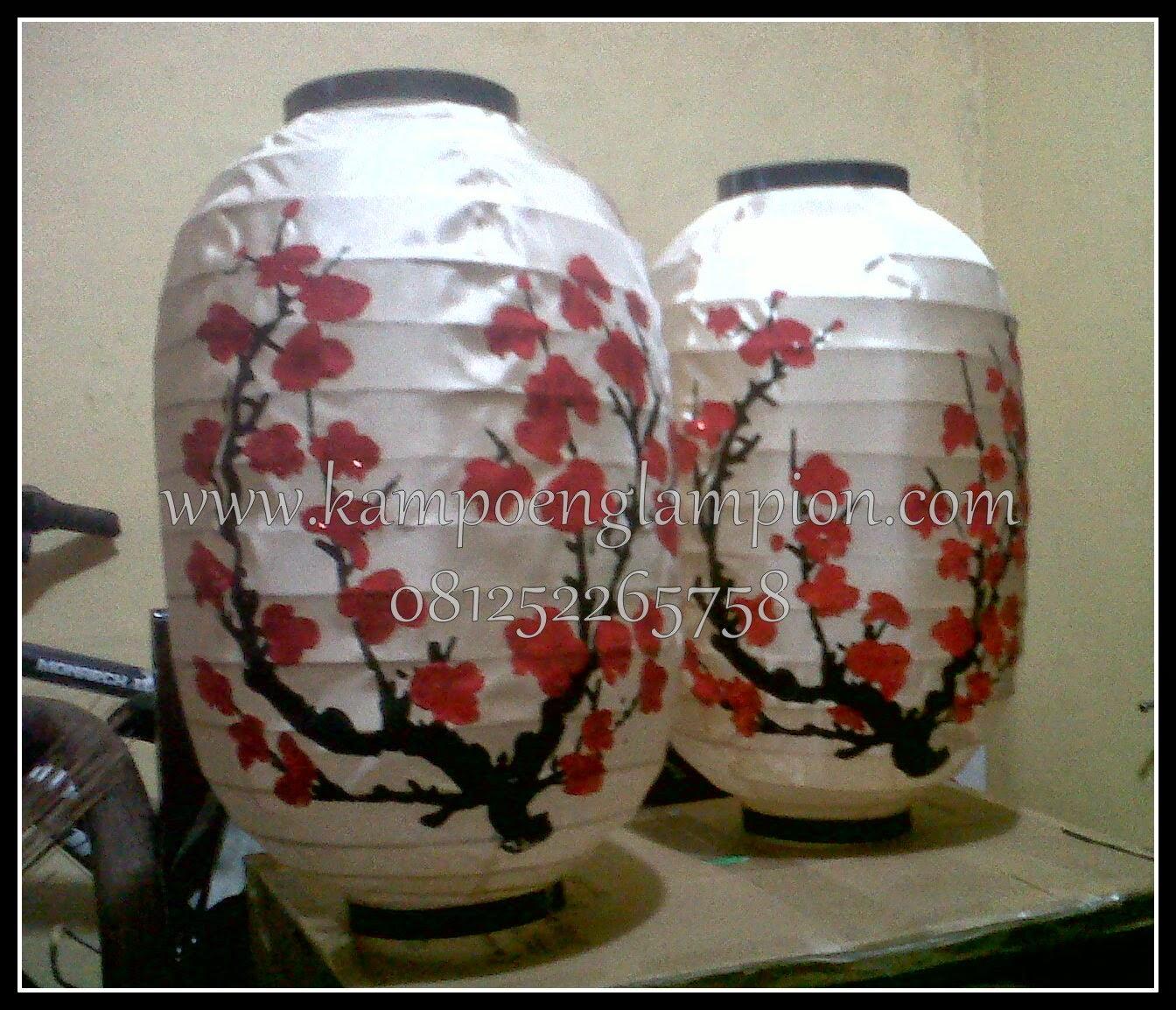 Lampion Motif Sakura