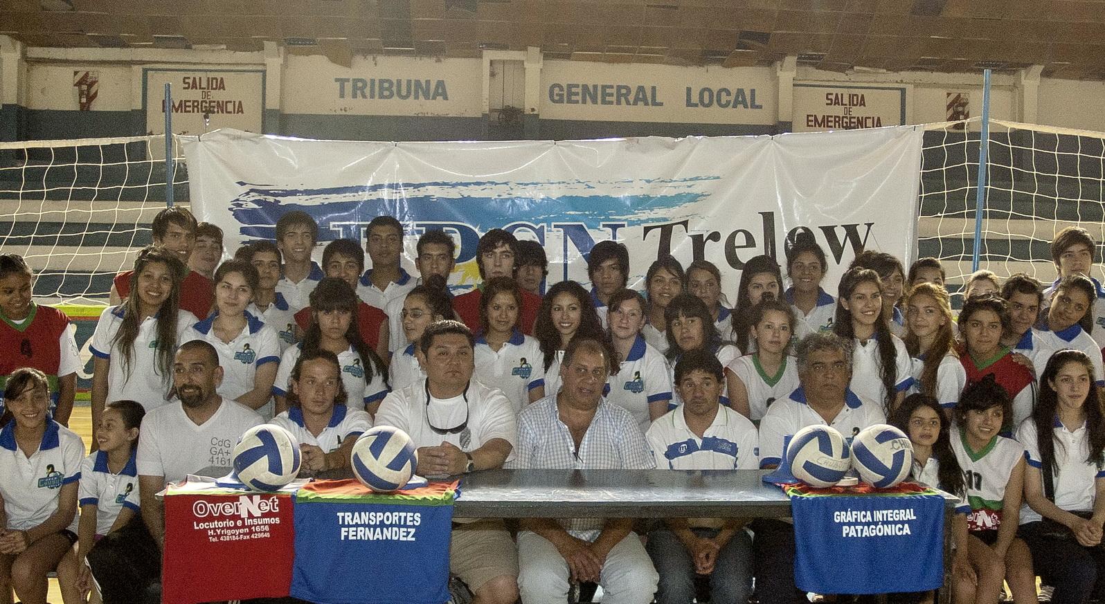 Presentación UPCN Chubut Volley