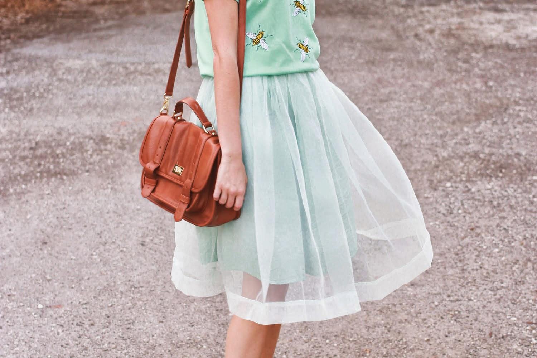 mint tutu skirt