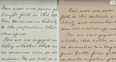 See all five copies of Lincoln\'s handwritten Gettysburg Address on the Google Cultural Institu...