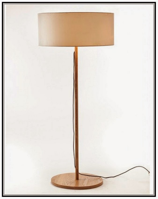Wooden Floor Lamp Base