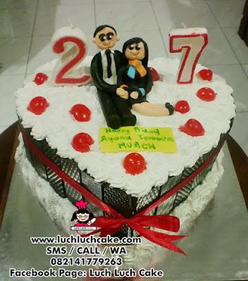 Birthday Blackforest Cake Daerah Surabaya - Sidoarjo