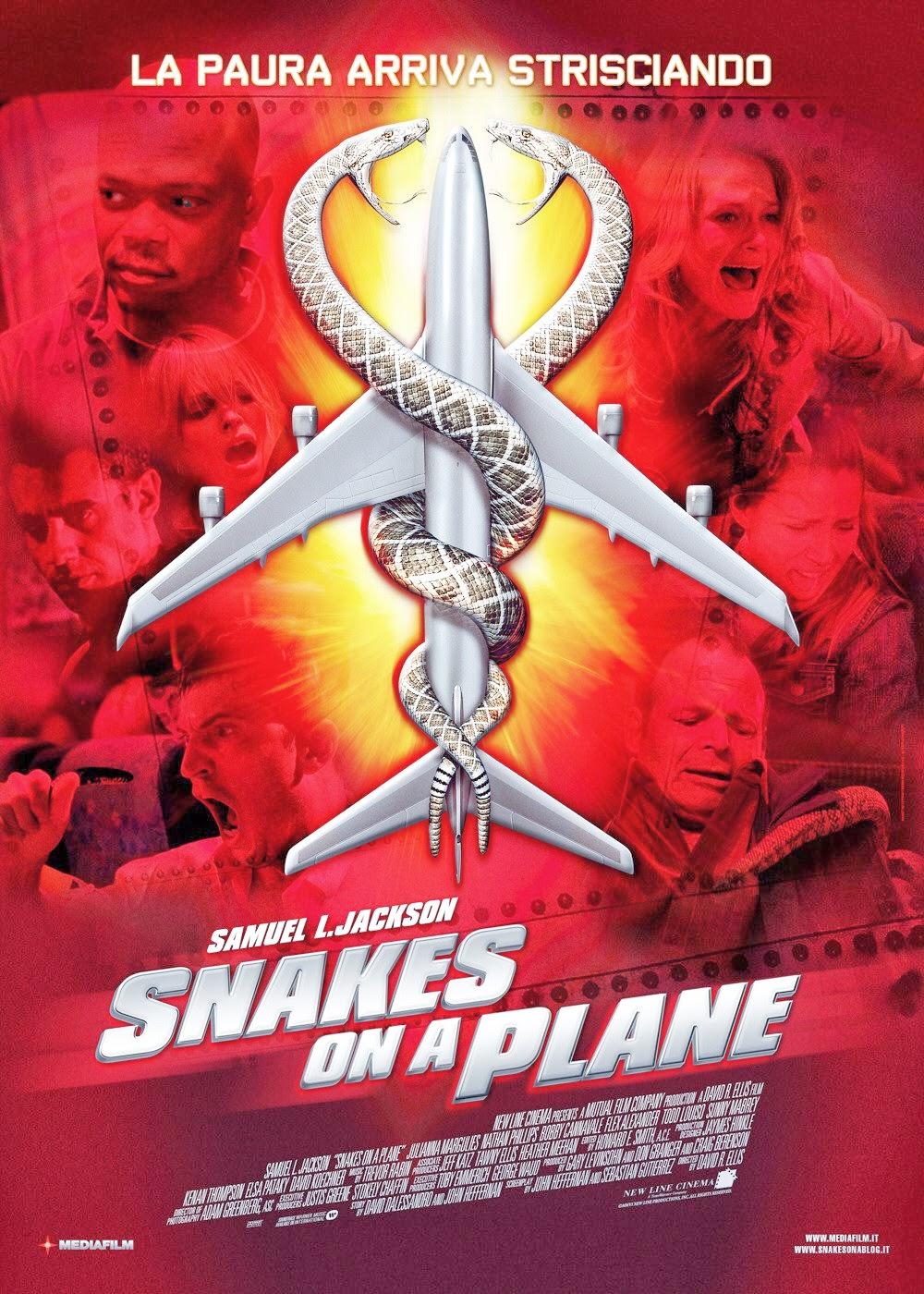 Rắn Độc Trên Không - Snakes On A Plane (2006) Poster