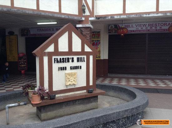 Fraser's Hill Food COurt