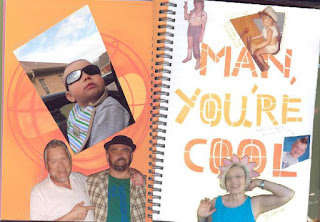 smash book page cool