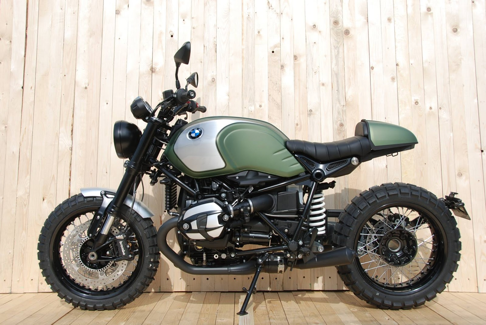 Racing Caf U00e8  Bmw R Ninet By Moto Technic
