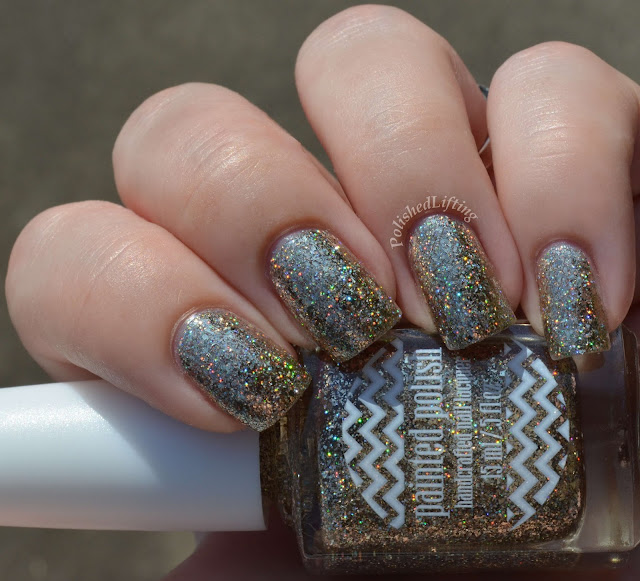 Painted Polish Painted in Holo Platinum