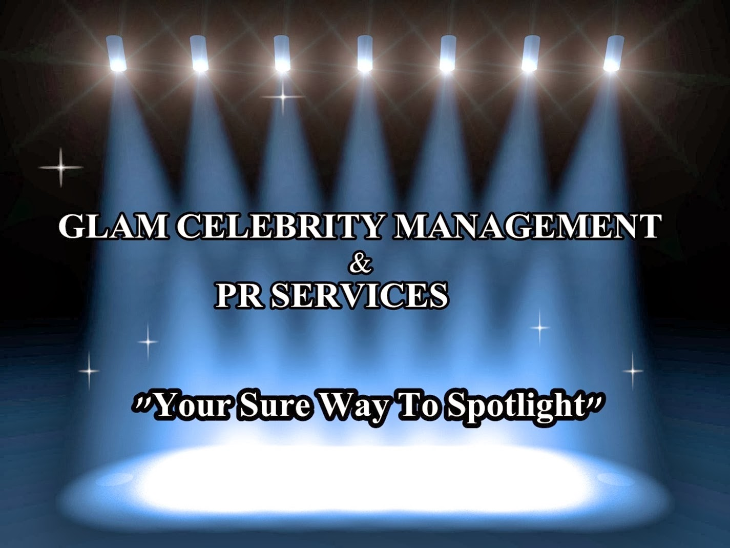 GLAM CELEBRITY MANAGEMENT & PR SERVICES