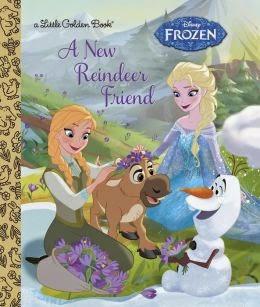 A New Reindeer Friend - DIsney's Frozen ebook