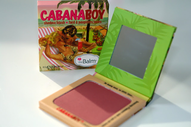 The Balm's Cabana Boy Blusher Review blog beauty