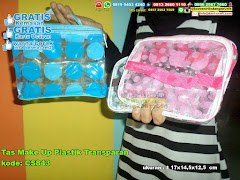 Tas Make Up Plastik Transparan