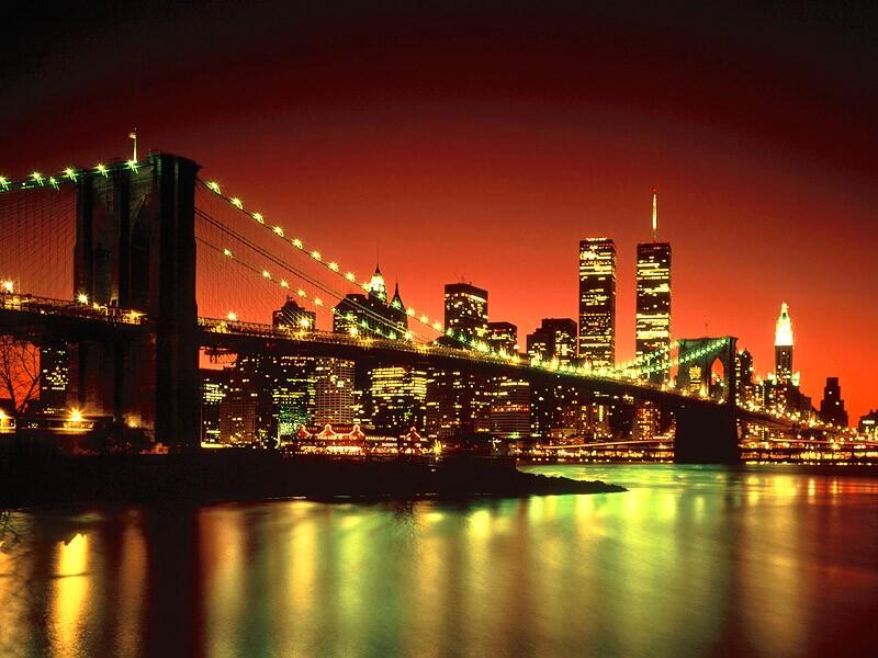new york at night - photo #2