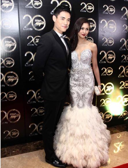 Kim Chiu and Xian Lim Wins Couple of the Night at the Star Magic Ball