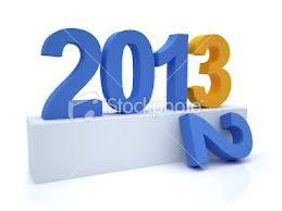 good bye 2012 .. welcome 2013