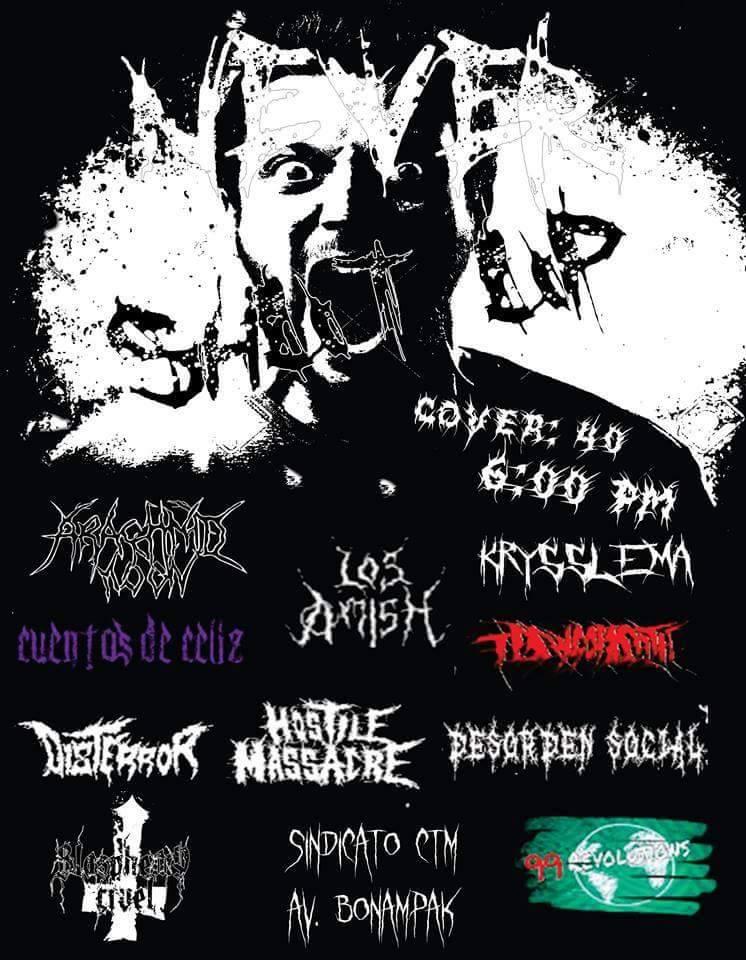 Tocadas PUNK en M�xico | PUNK shows in Mexico: 08/08/2015 | SHUT ...