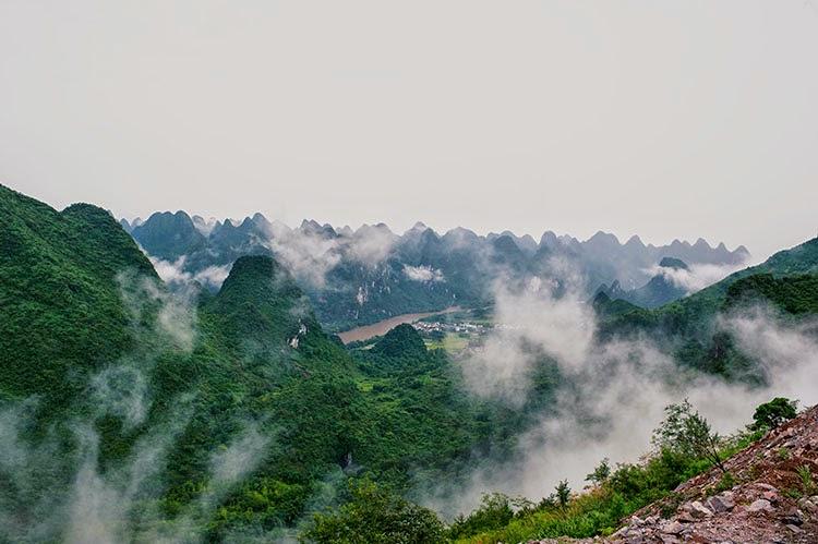 River Cruise Guilin China