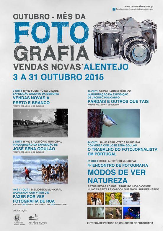 MODOS DE VER A NATUREZA - VENDAS NOVAS 2015