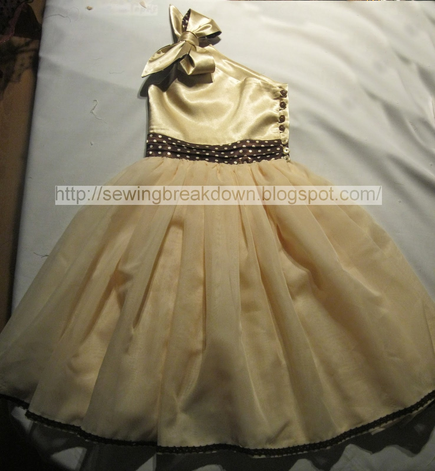 Нарядное платье для девочки от А до Я Страна Мастеров 4