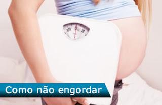 Como não engordar na gravidez
