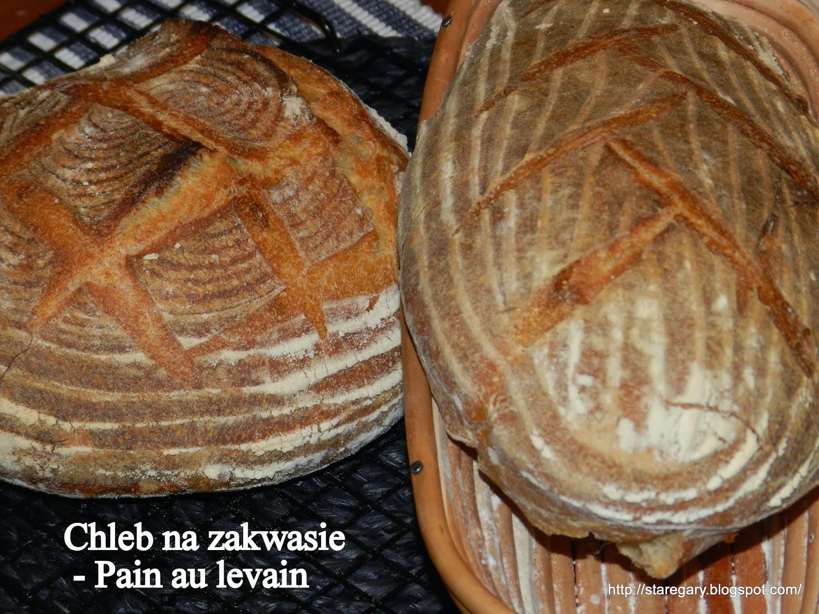 Chleb na zakwasie  - Pain au levain J.Hamelman