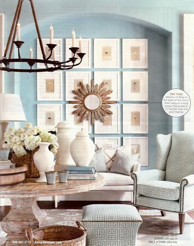 belle maison inspiration snapshot refined living room