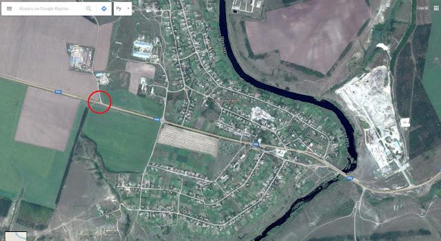 Место, где стоит выходить из автобуса по дороге в Пелагеевку