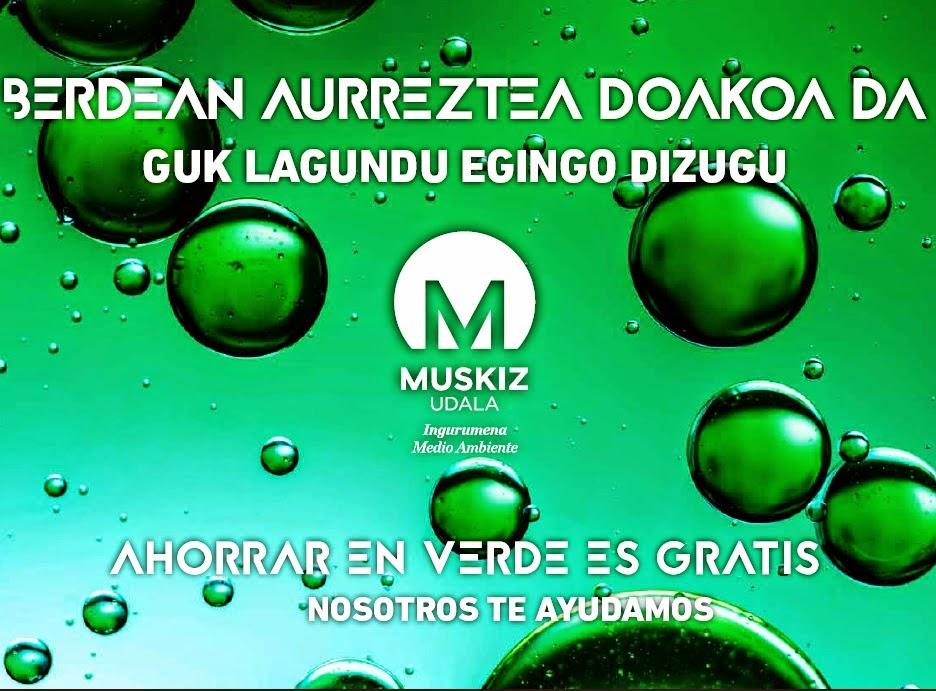 Muskiz sacará a concurso la gestión integral del suministro energético y mantenimiento