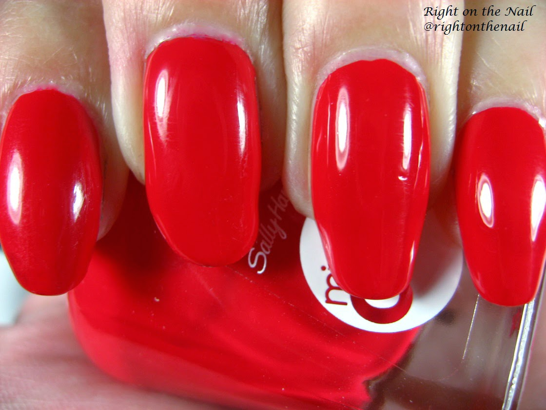 Right on the Nail: Right on the Nail ~ Sally Hansen Miracle Gel Nail ...
